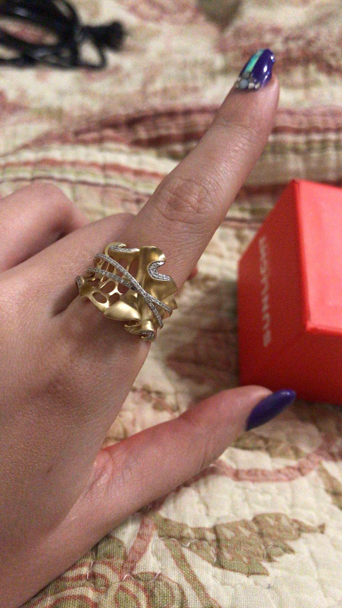 Мега бомбическое кольцо!!!