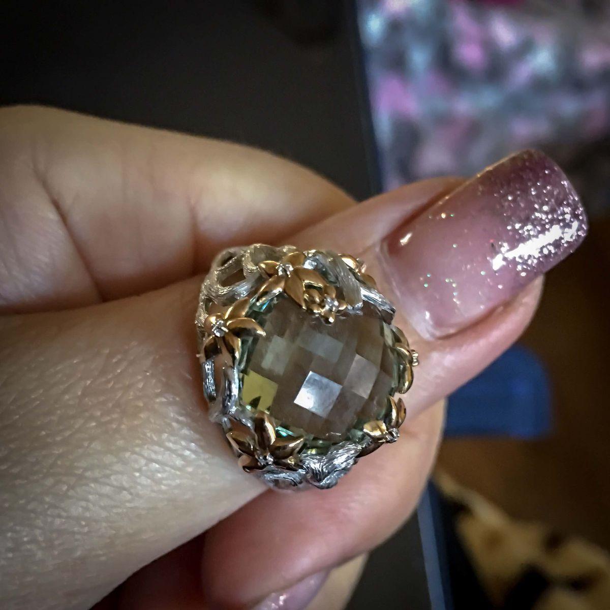 Это моё кольцо