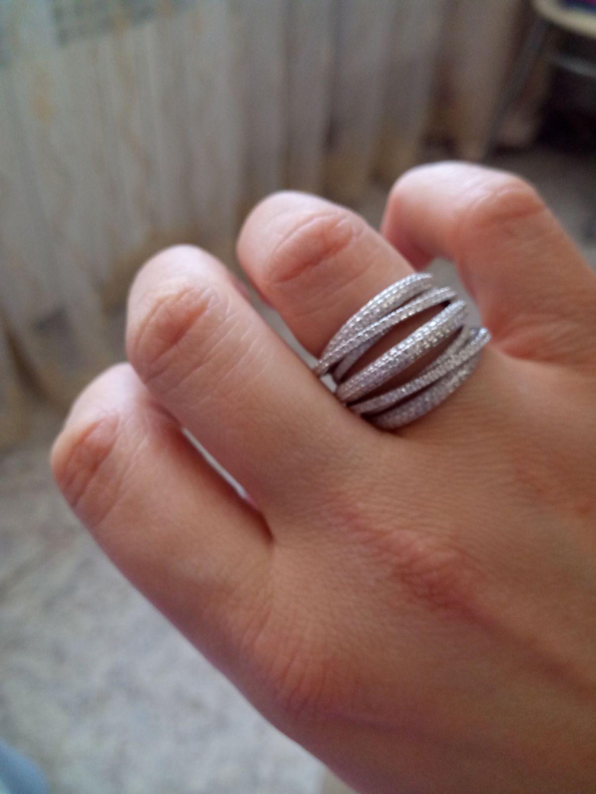 Колечко серебряное