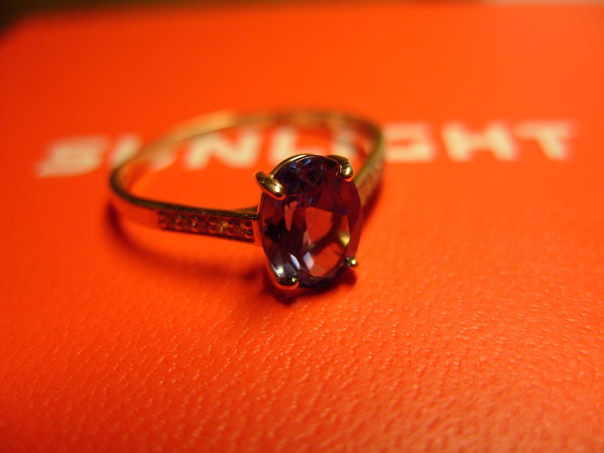 Чудесное кольцо с наноситаллом.