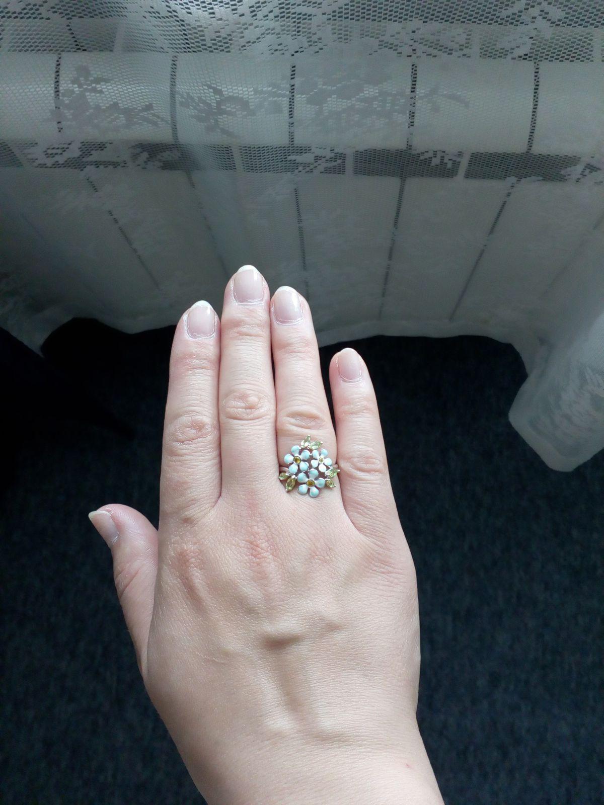 Цветочное кольцо