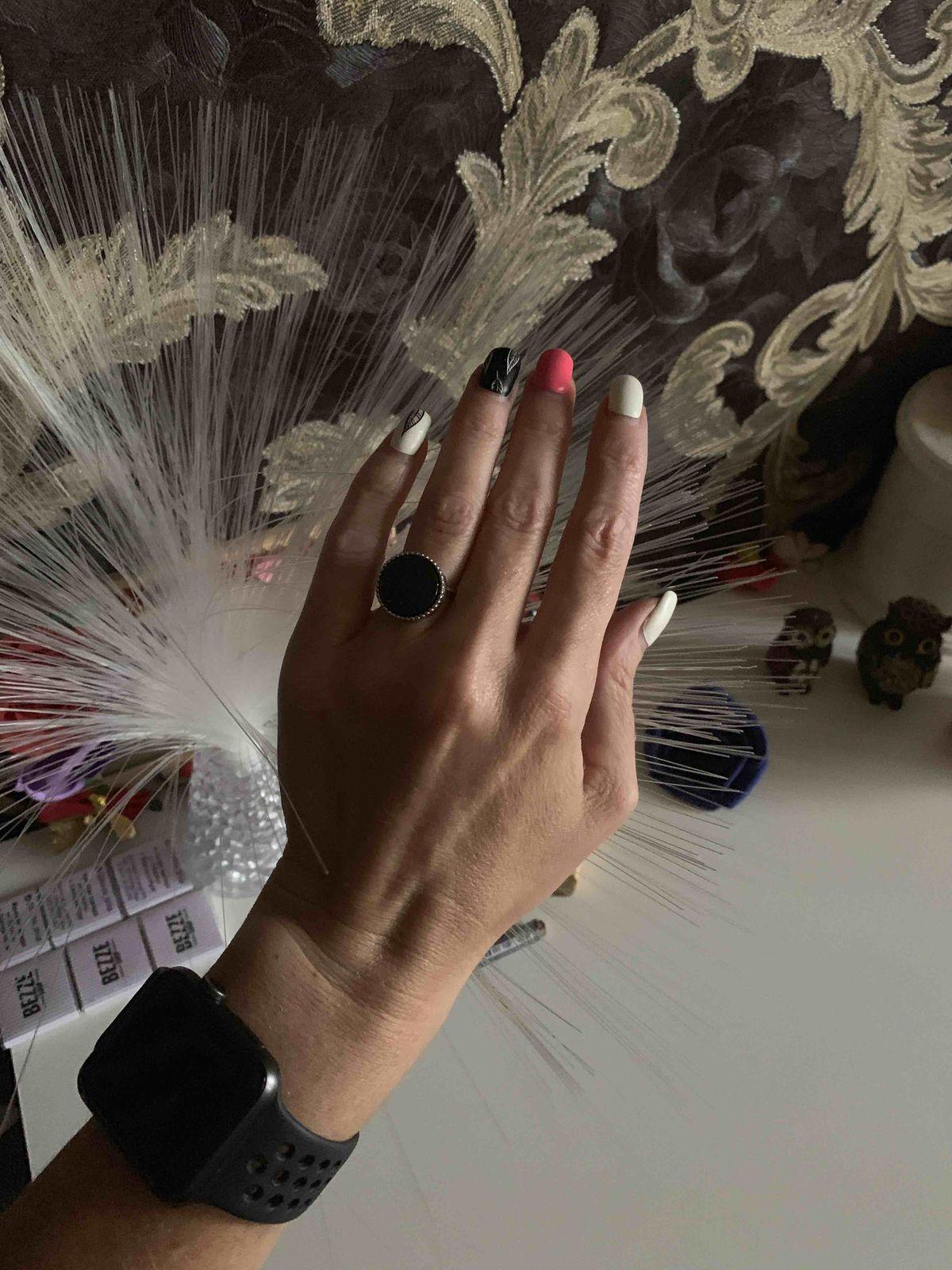 Очень стильное кольцо!