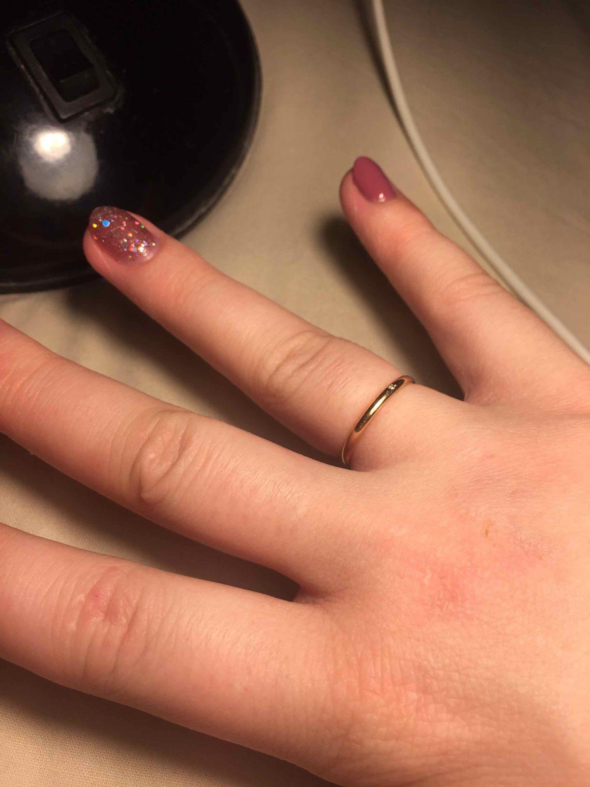 Женское, обручальное кольцо
