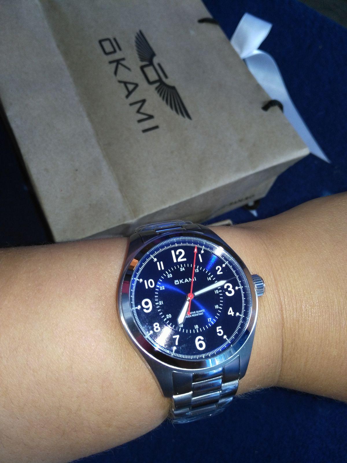Отличные мужские часы