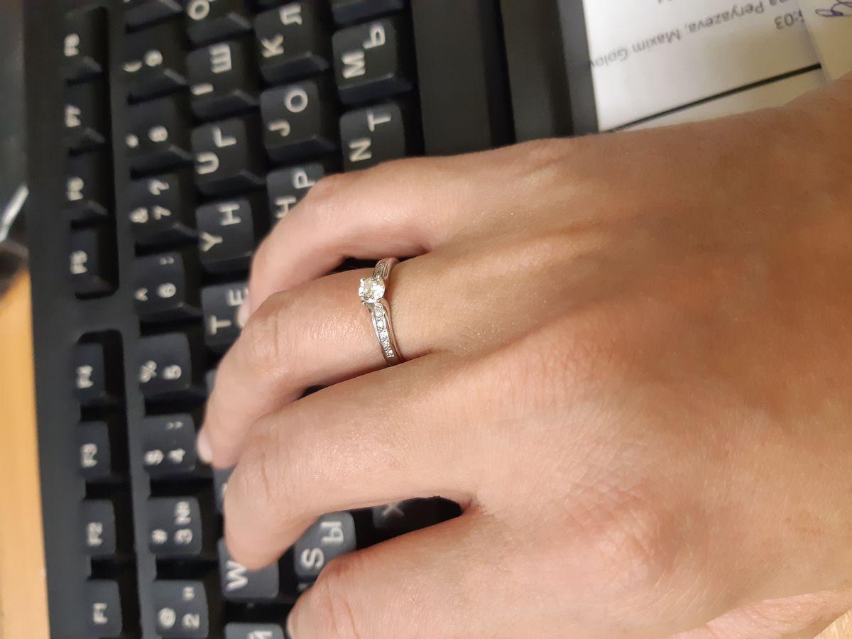 Умопомрачительное кольцо, за свои деньги.