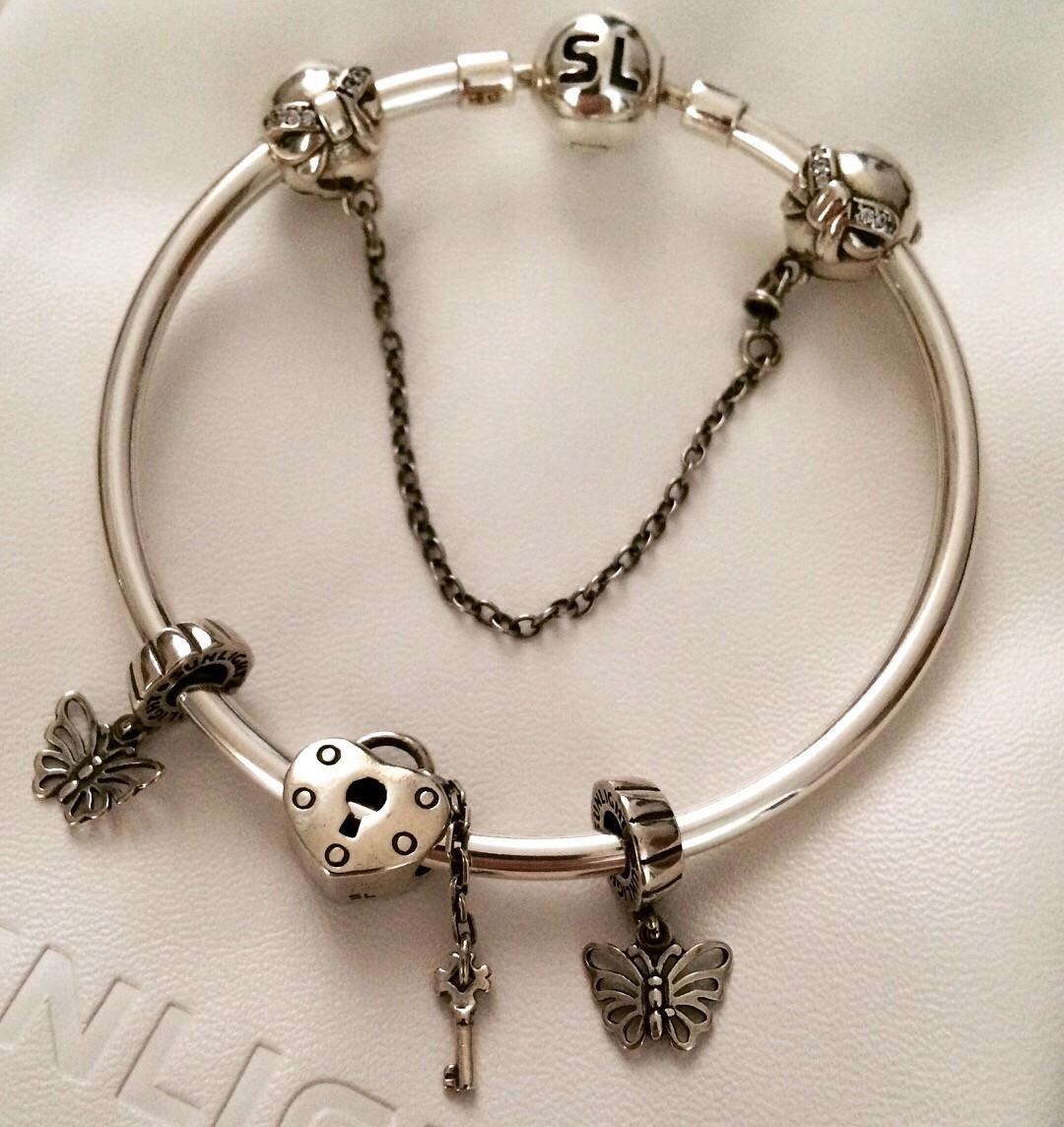 Шармы для серебряного браслета