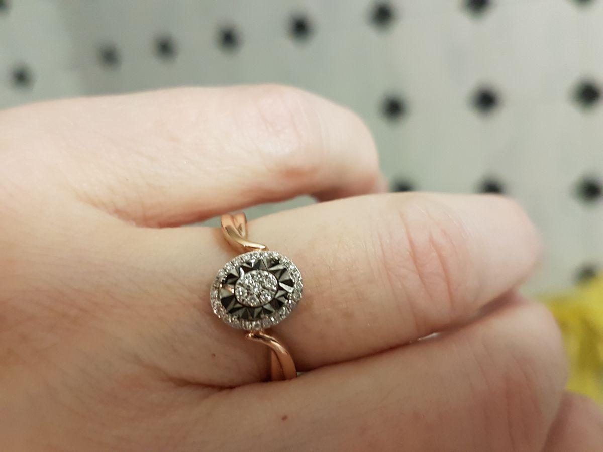 Кольцо с с бриллиантами