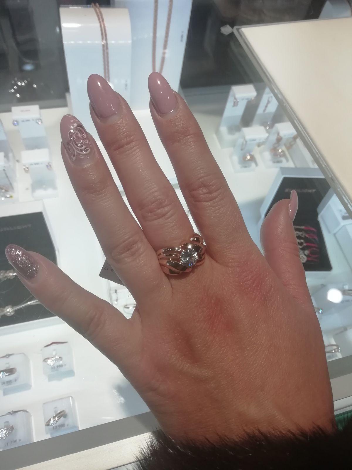 Кольцо с фантом.