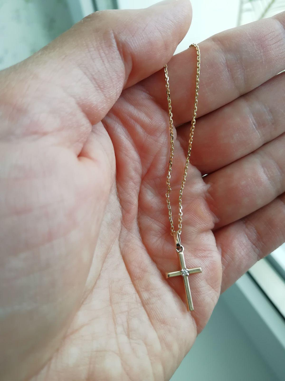 Достойный красивый крестик