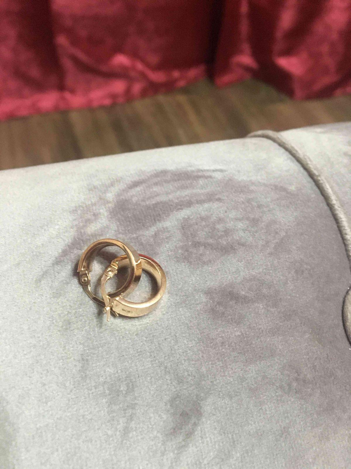 Кольца серьги
