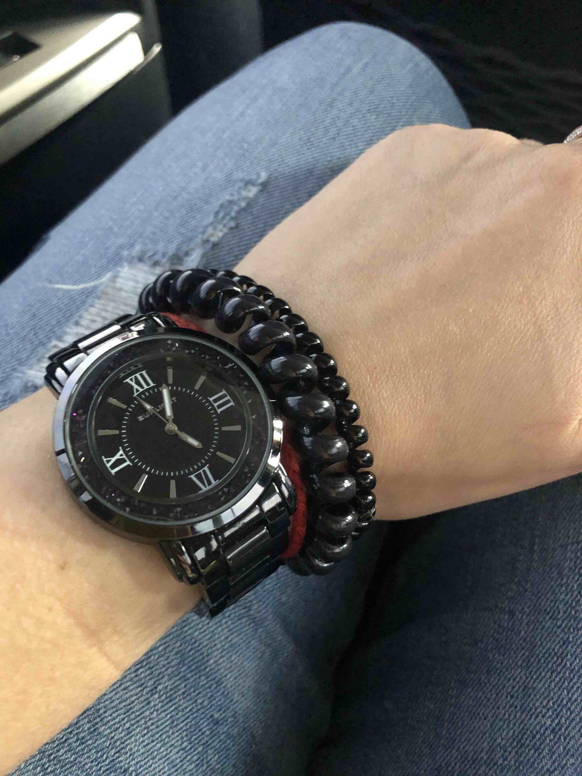 Часы черные (керамические). Рекомендую!