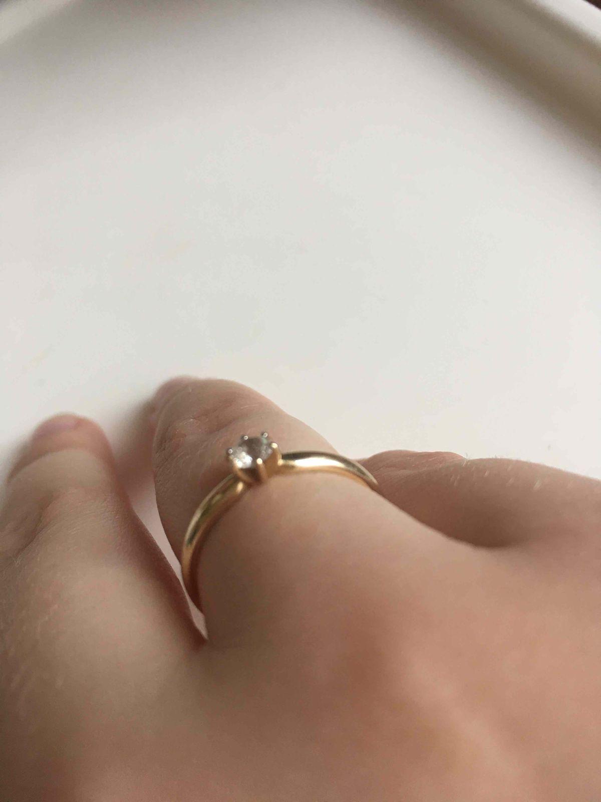 Классическое золотое колечко