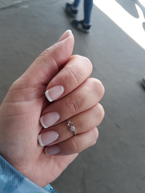 Кольцо из серебра на фалангу пальца