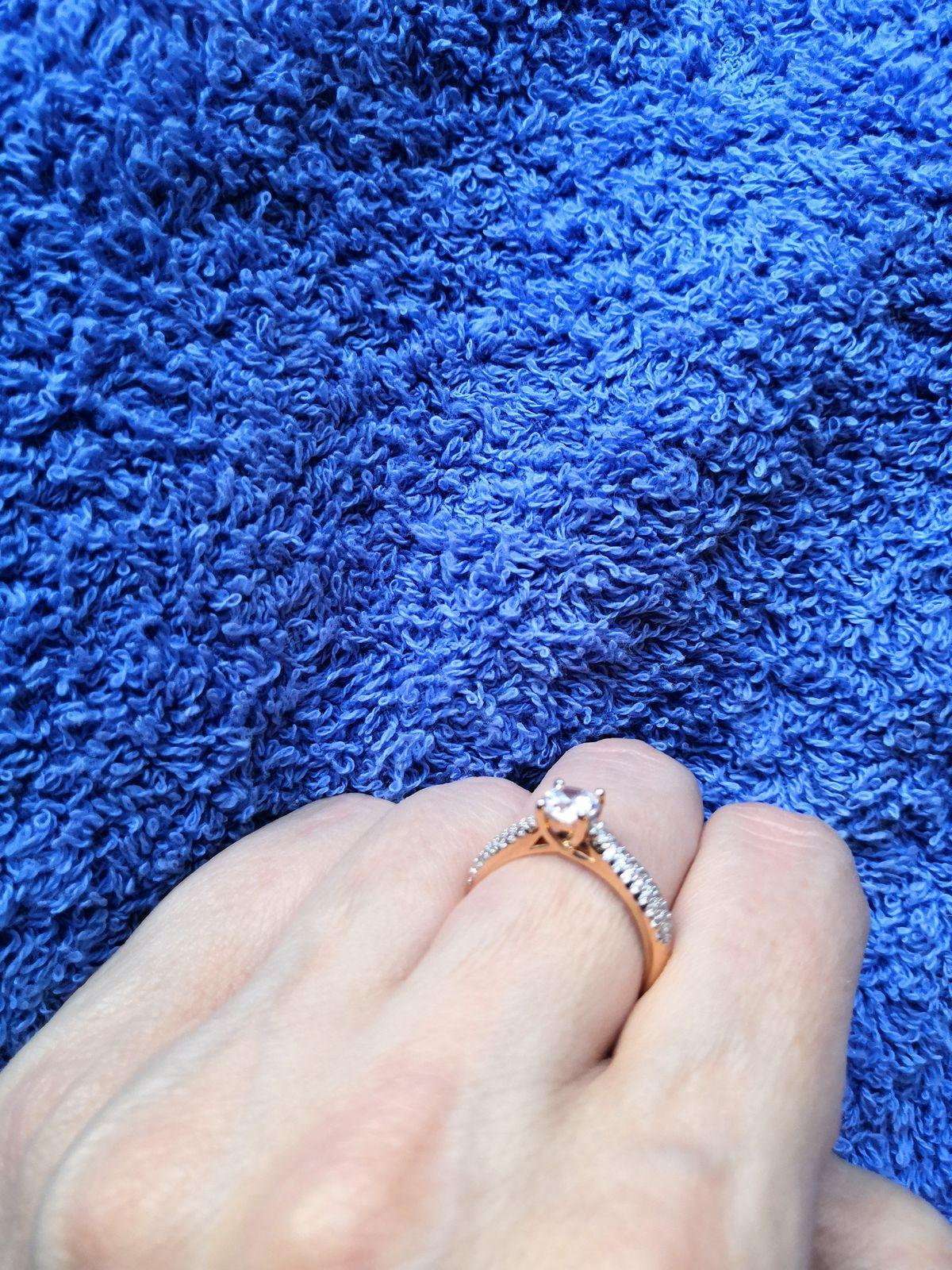 Моё прекрасное новое кольцо