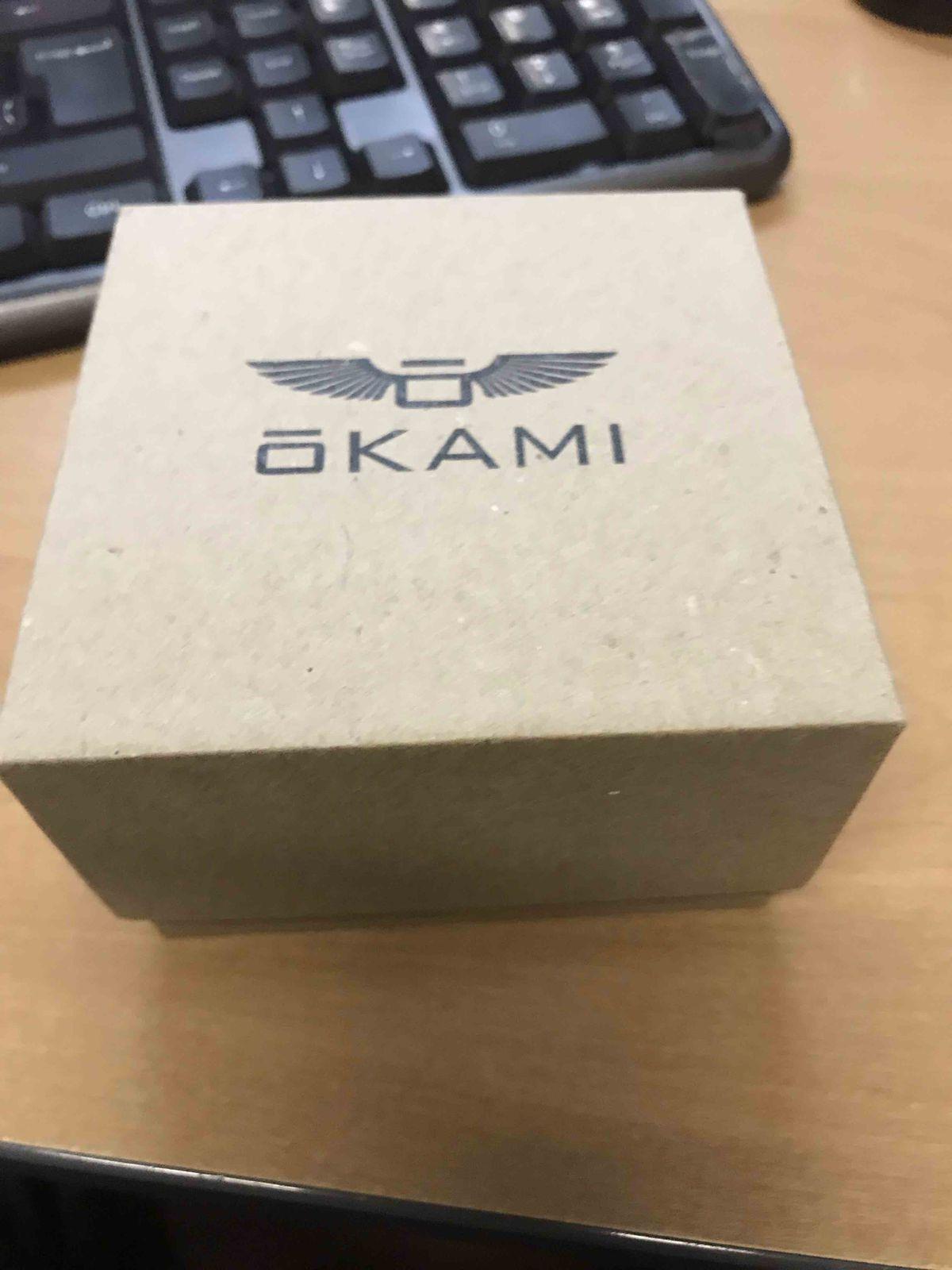 Стильные, красивые часы от Оками