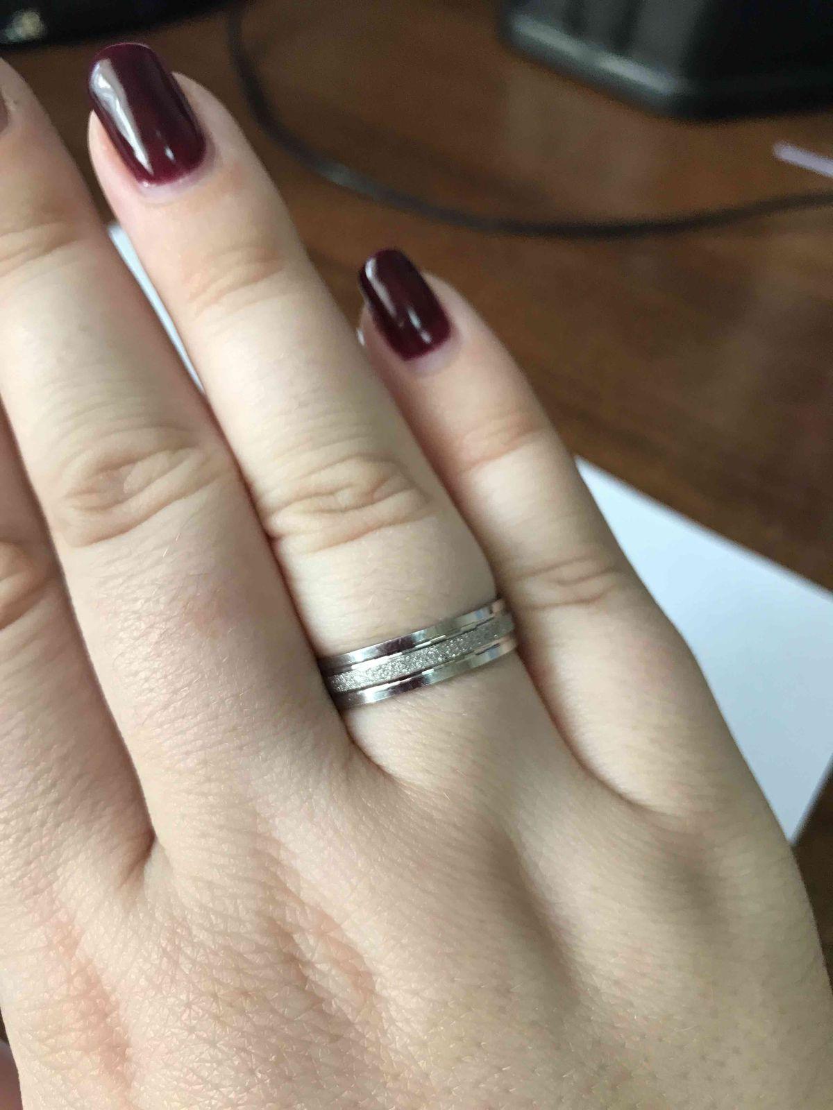 Идеальное обручально кольцо!