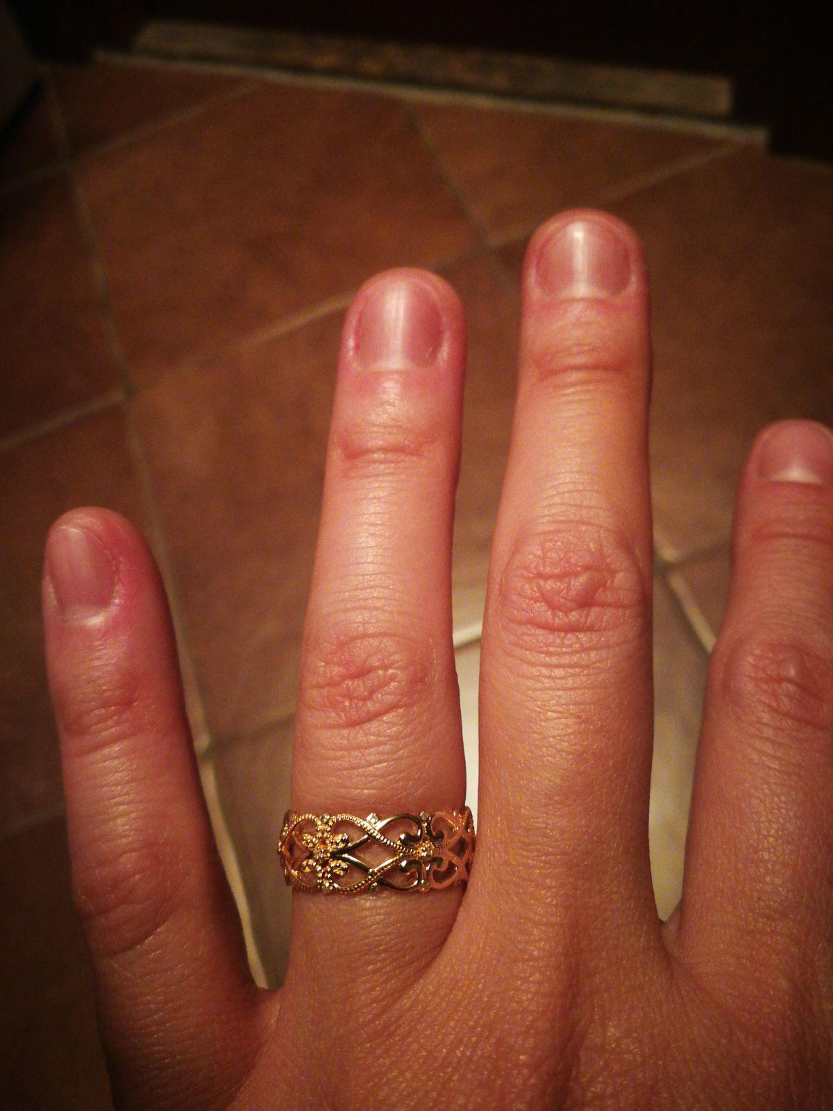 Кольцо ажурное с бриллиантами!)