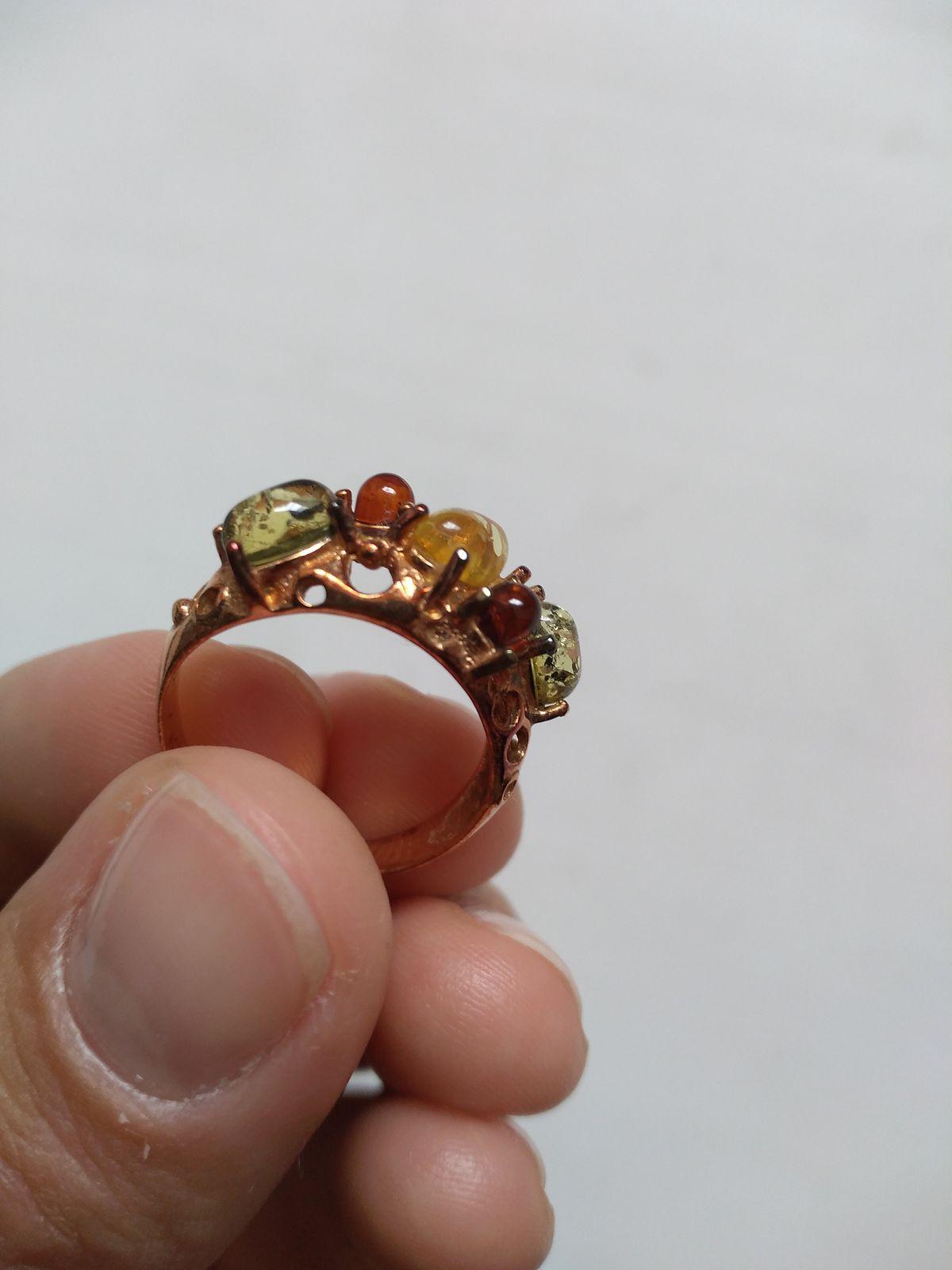 Первоначально красивое кольцо