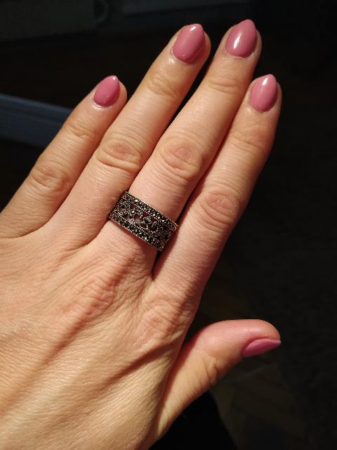 Теперь это мое любимое кольцо!))