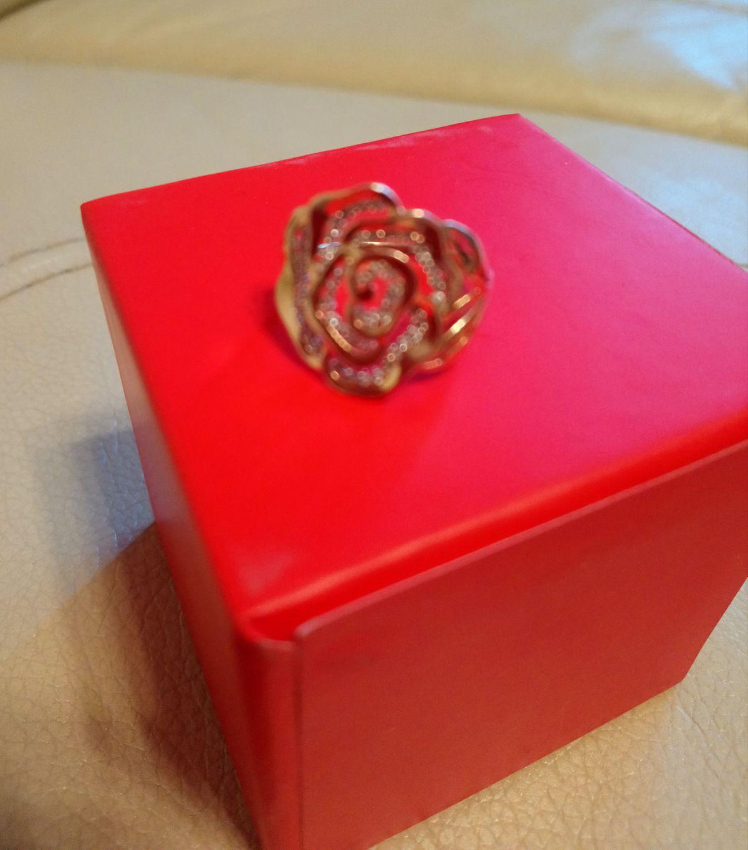 Кольцо - роза!