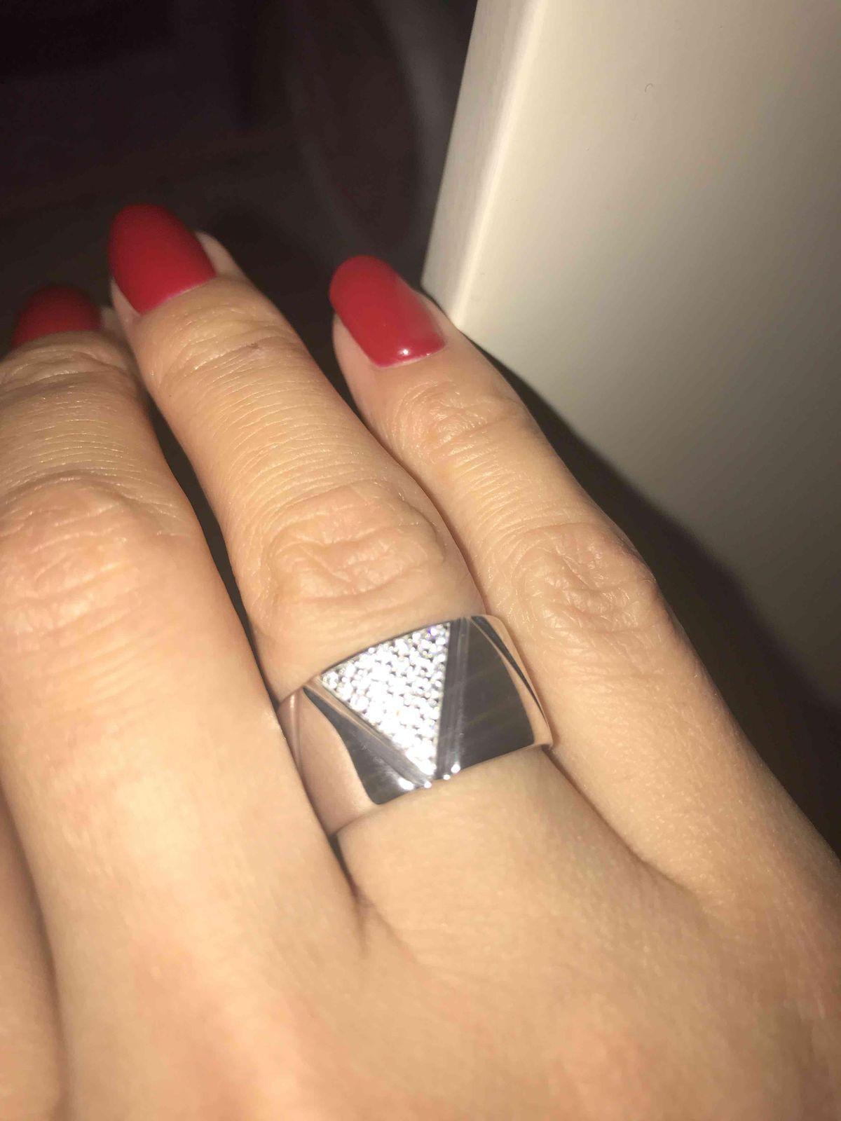 Стильное широкое кольцо !