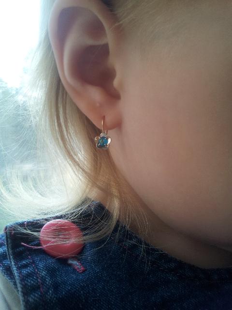 Сережки для любимой моей девочки.