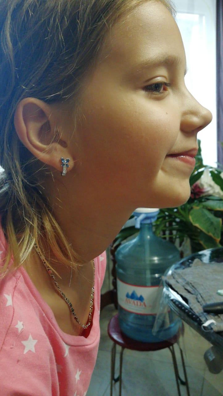Прелестные серьги-бабочки