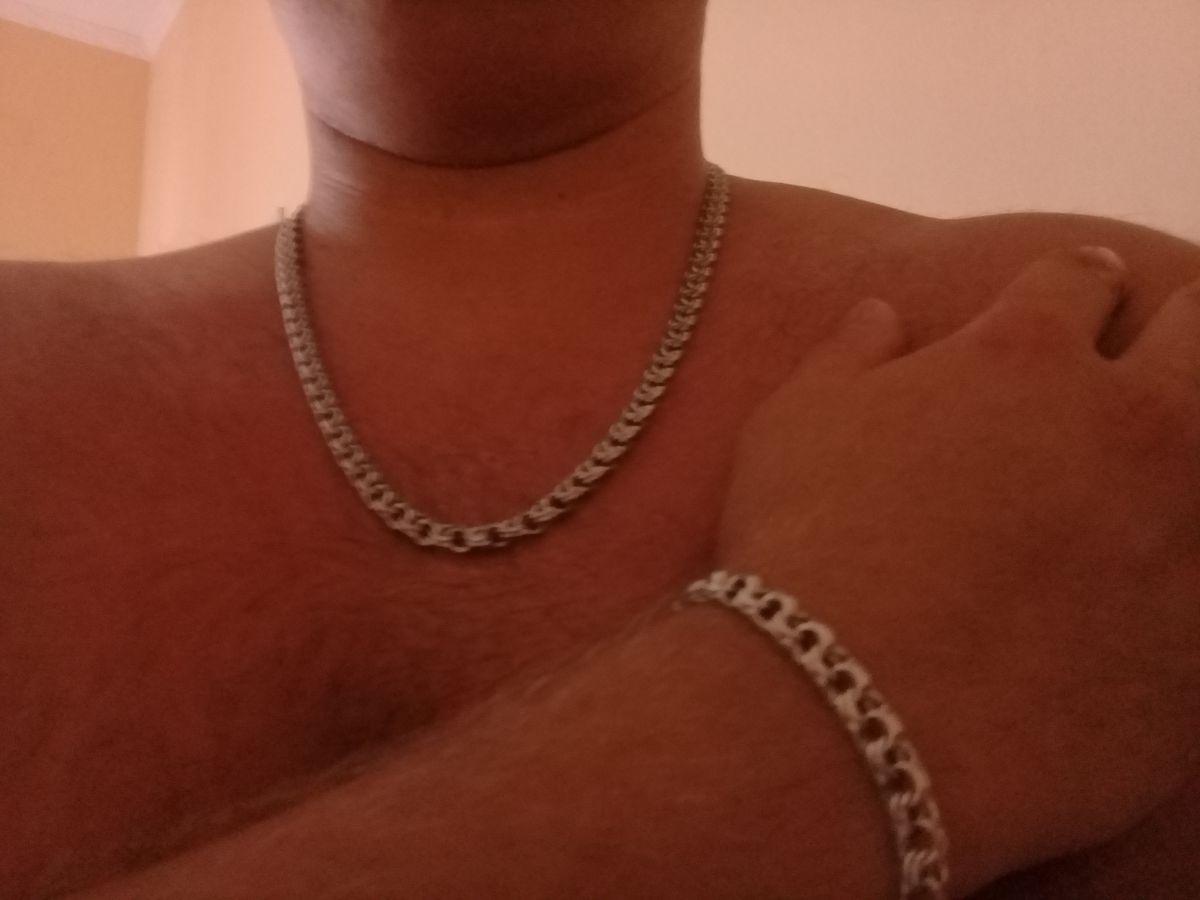 Браслет серебрянный