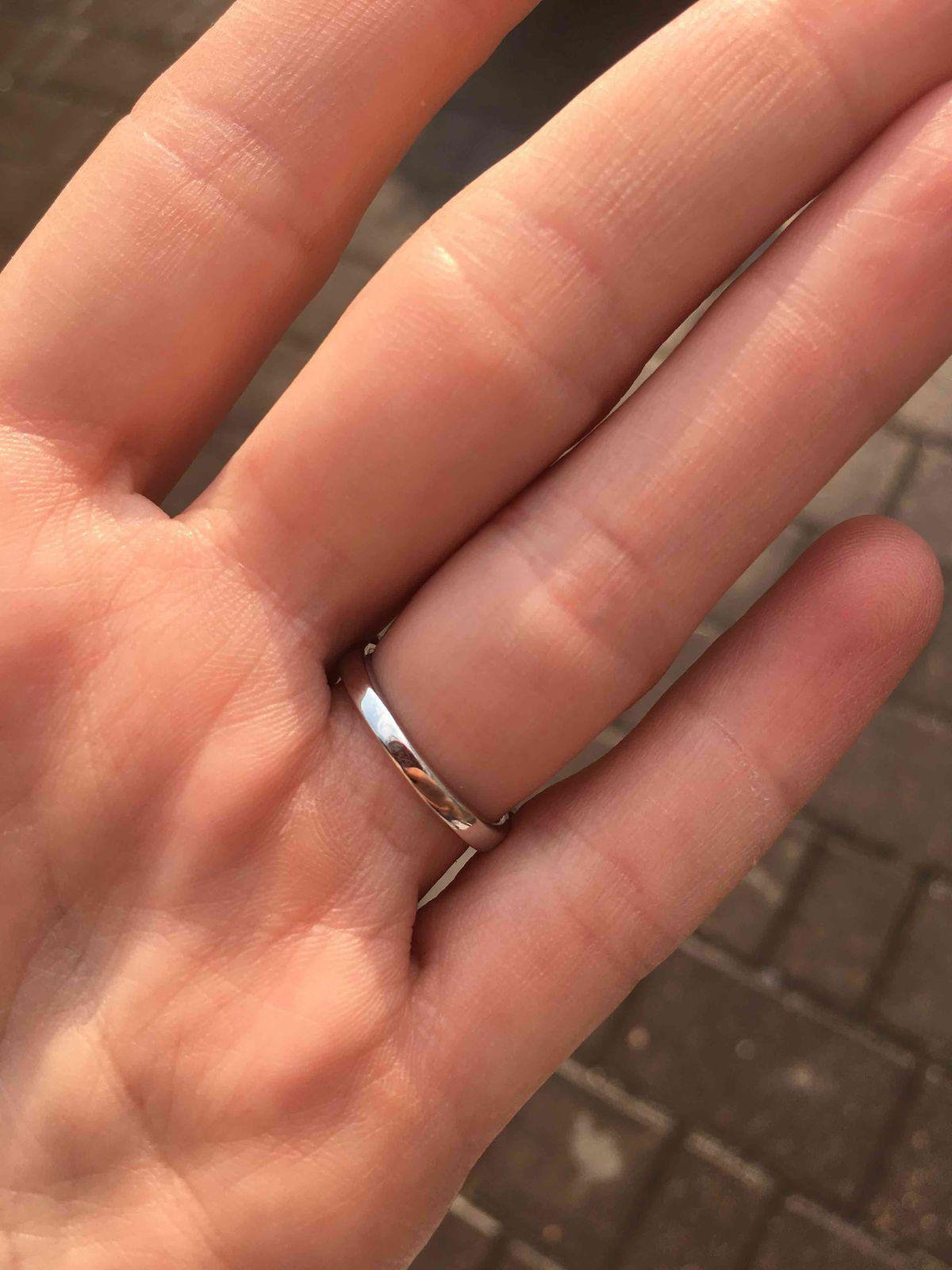Серебряное кольцо с фиаитами