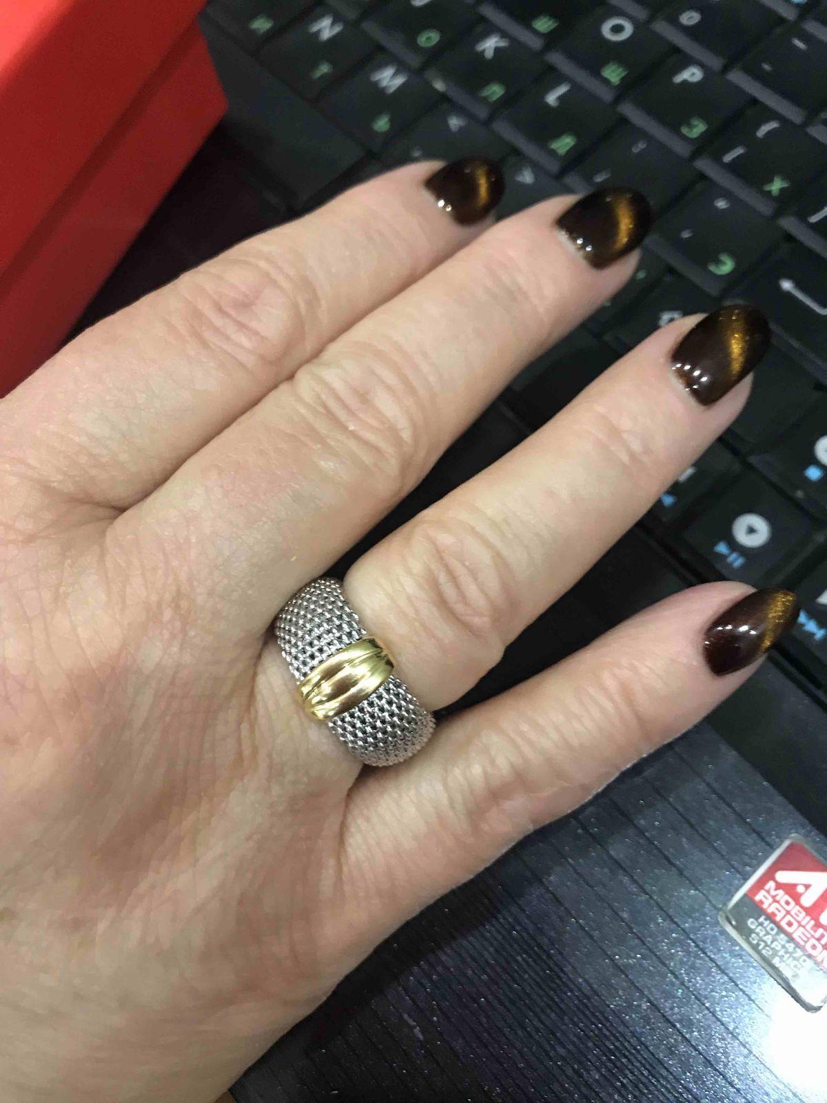 Очень необычное и стильное кольцо!