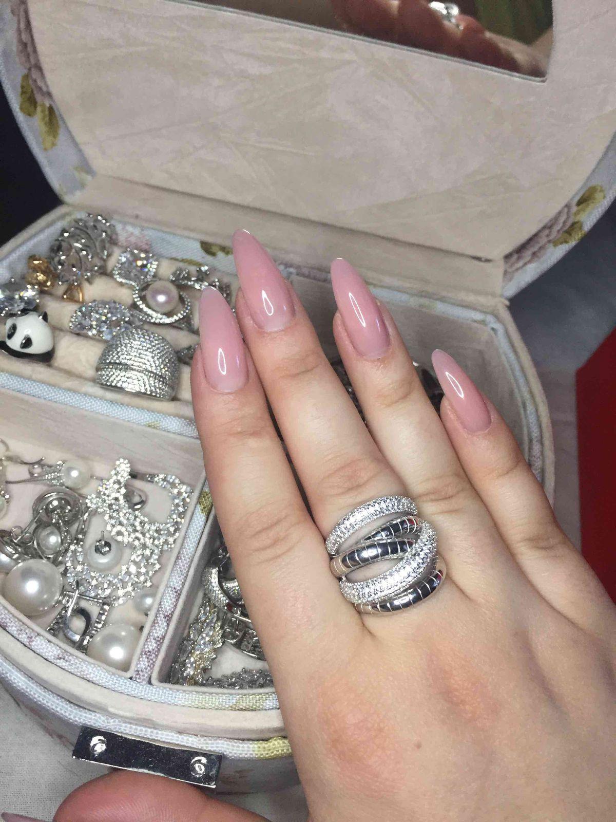 Кольцо серебро змея)
