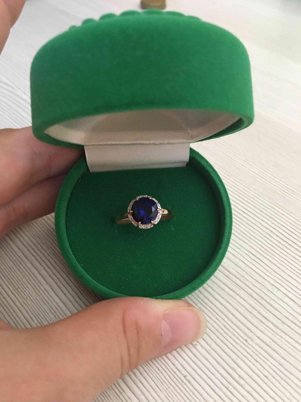 Замечательное кольцо в подарок от мужа!