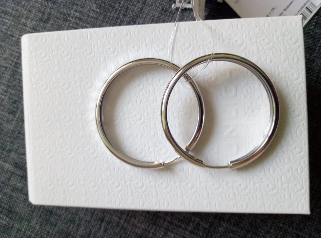 Серьги - кольца