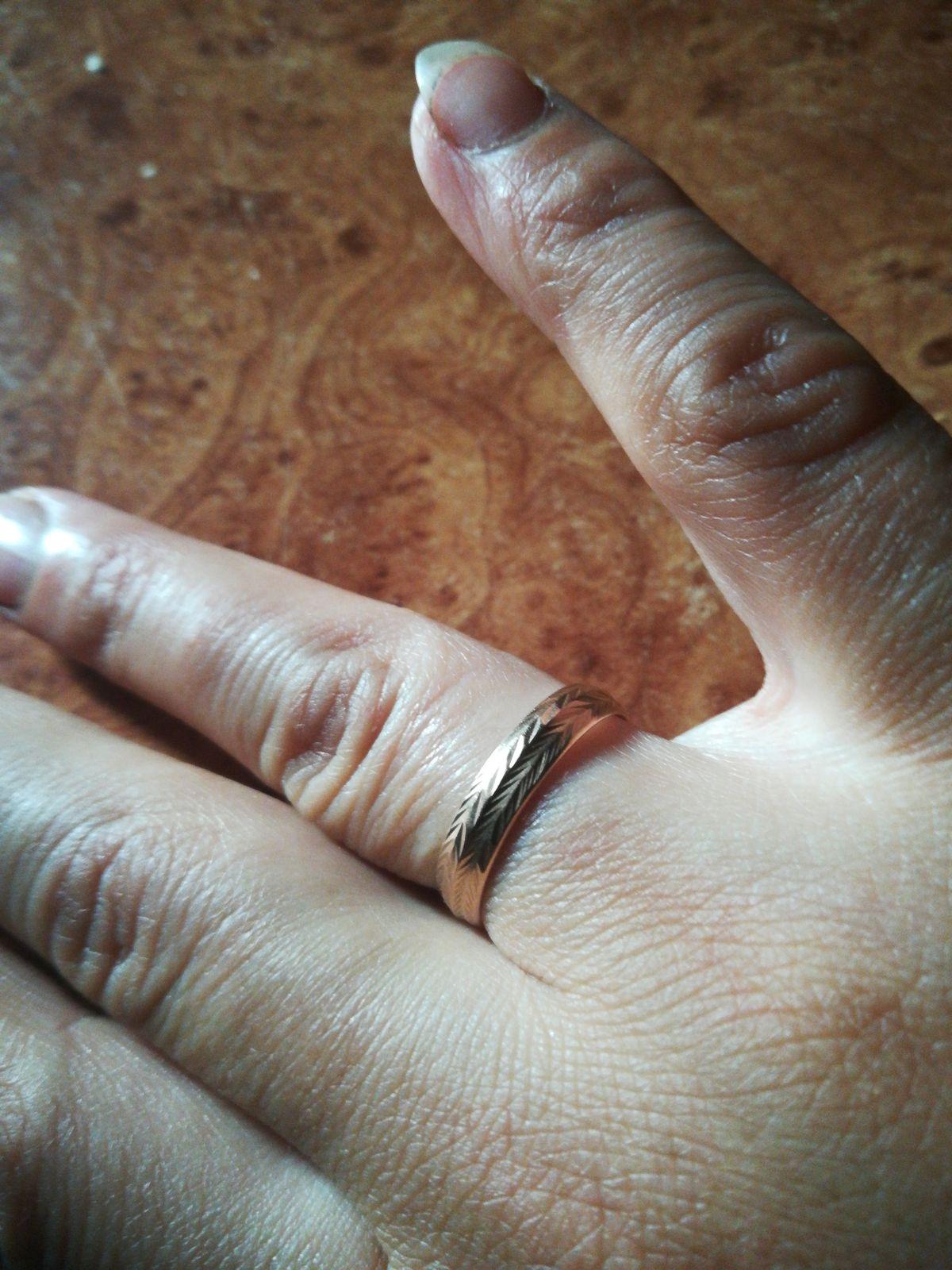 Спасибо, замечательное обручальное кольцо