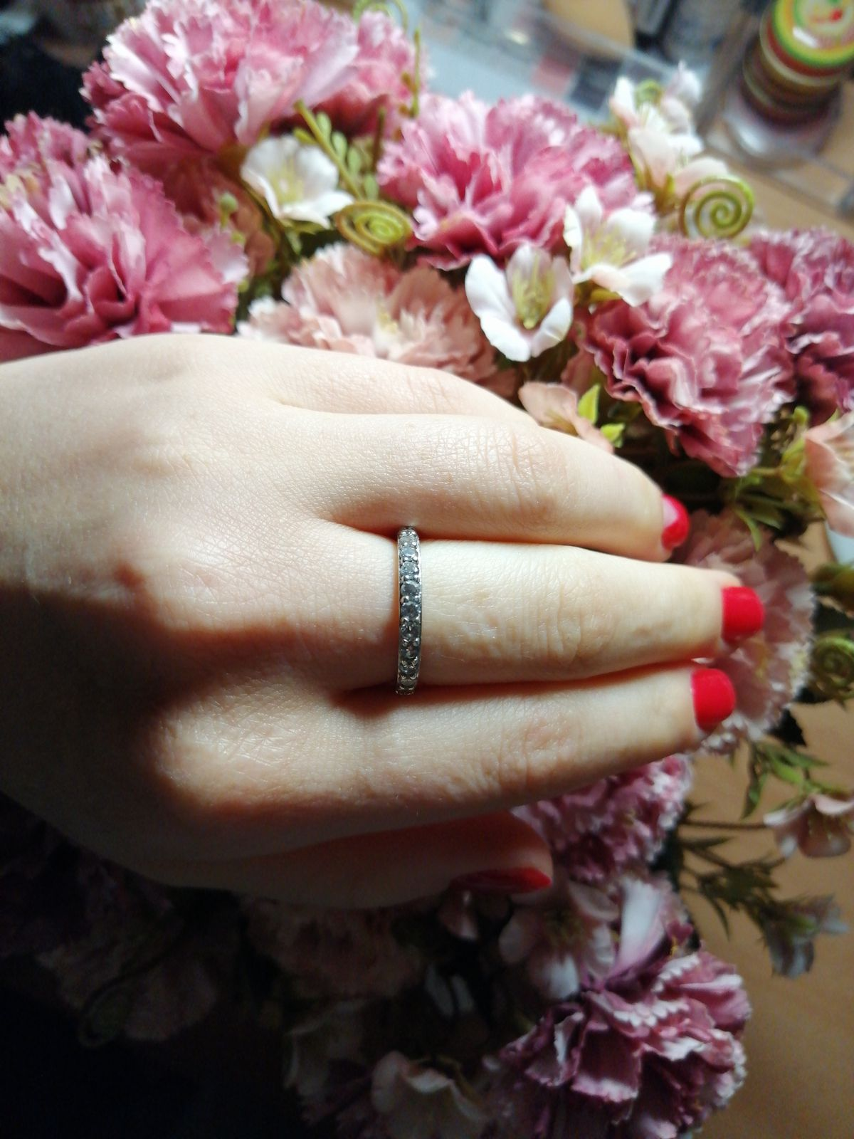 Очень элегантное и в тоже время стильное кольцо!!!